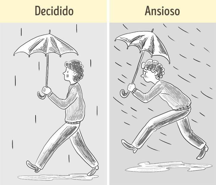 Dibuja A Una Persona Bajo La Lluvia Y Te Diremos Cómo Enfrentas Tus Problemas