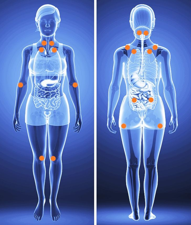 Sitemolesta eldolor entodo elcuerpo, estos 12síntomas deberían preocuparte