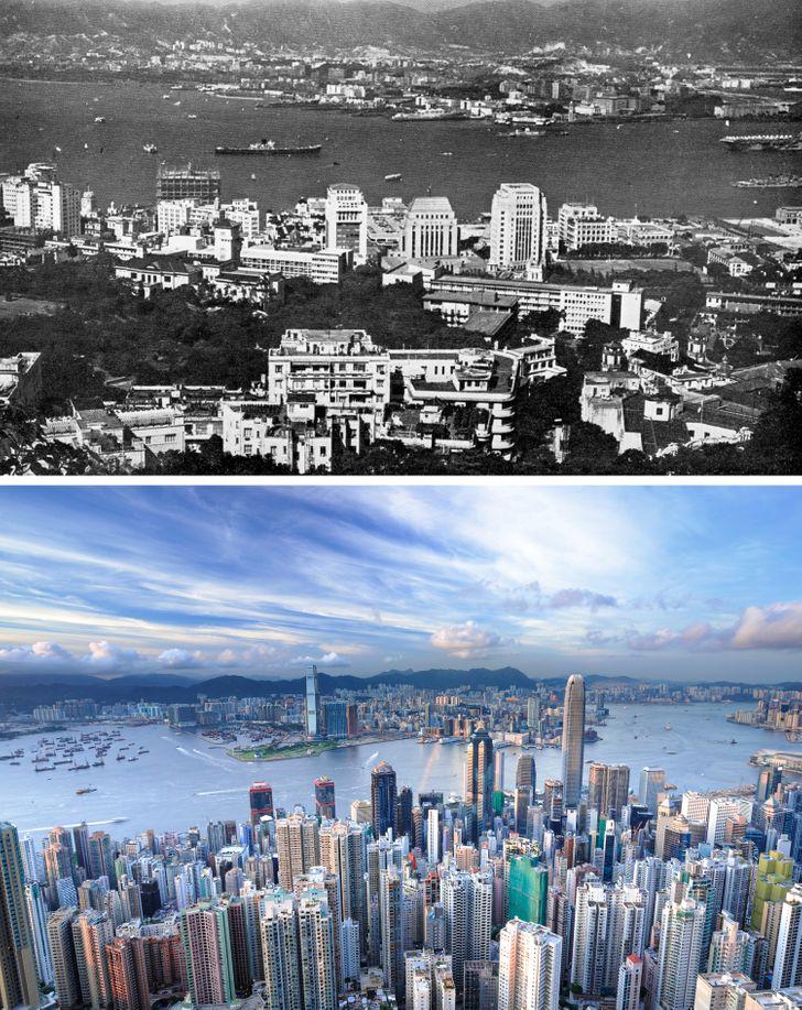 20 Fotos que muestran lo mucho que ha cambiado nuestro mundo con el tiempo