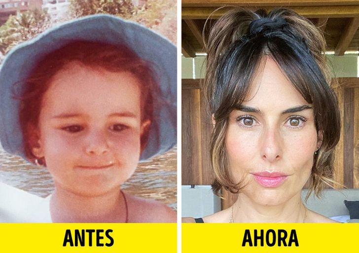 30+ Famosos mexicanos compartieron en sus redes fotos de cuando eran pequeños (Thalía luce irreconocible)