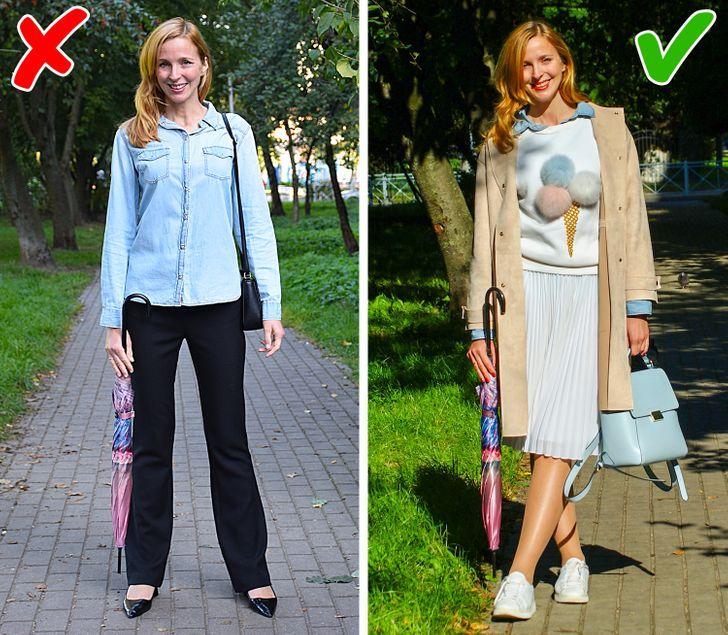 10 Métodos sencillos para continuar usando prendas fuera de moda y verte espectacular