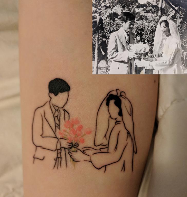 19 Tatuajes fabulosos que tienen historias emocionantes detrás de ellos